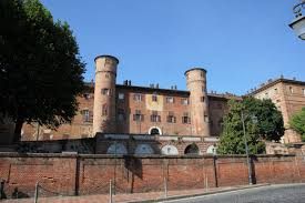 The Castello at Moncalieri, a former residence of Victor Emmanuel II, is now a Carabinieri college