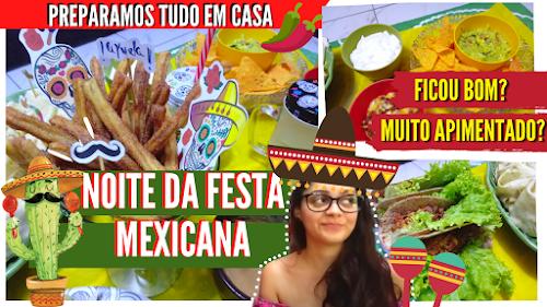 Festa-mexicana-em-casa