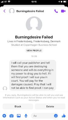 Morbid post from 'Burningdesire Failed'