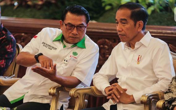 Aktivis 1998: Kami Mencium Gelagat Moeldoko Ingin Disejajarkan dengan Jokowi