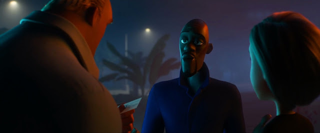 Incredibles 2 Frozone at Night