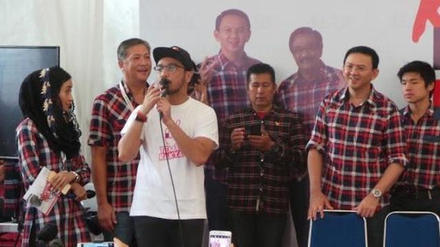 Tidak Suka Anies Jadi Presiden Tanda Giring Belum Move On dari Kekalahan Ahok
