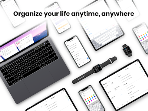 Organize your anytime , anywhere