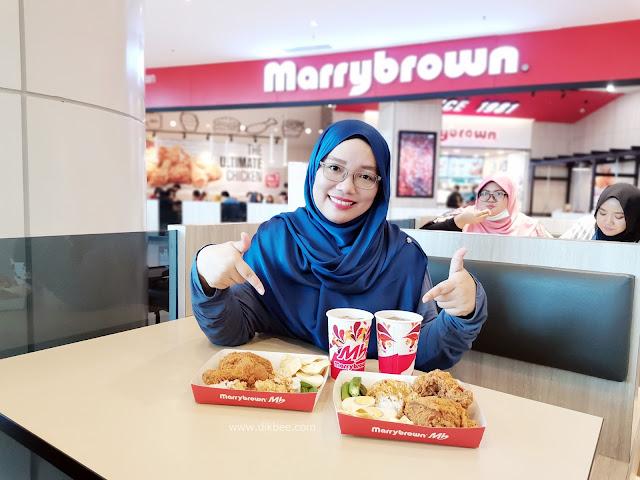 Jom Pekena Nasi Kandar Di Marrybrown