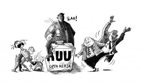 Menko Perekonomian tanpa rasa malu sedikit pun menyatakan Kartu Prakerja dan UU Cipta Kerja adalah terobosan untuk mengatasi 9,77 juta pengangguran di Indonesia. Indikatornya jumlah peserta yang mencapai 5,6 juta orang.