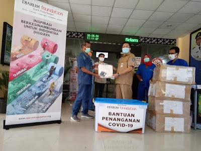 Djarum Foundation Beri APD Bagi Tenaga Medis RSUD Provinsi NTB