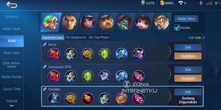 Build and Emblem Vale Hurts in Mobile Legends