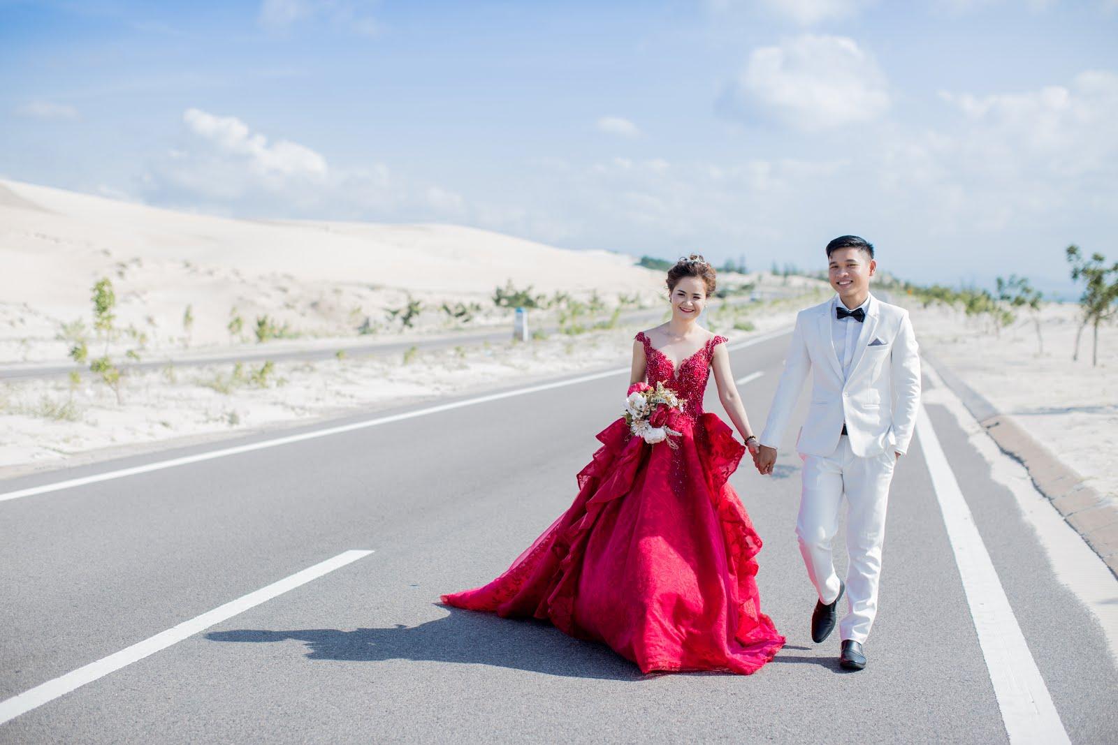 Chụp ảnh cưới ngoại cảnh Mũi Né - Bàu Trắng