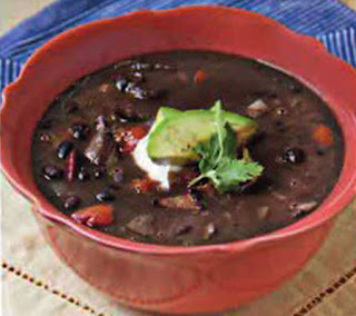 black bean and chipotle soup recipe