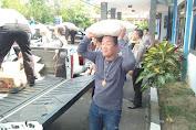 Ditlantas Polda NTB Gerak Cepat Bantu Masyarakat Korban Gempa