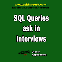 SQL Queries ask in Interviews, www.askhareesh.com