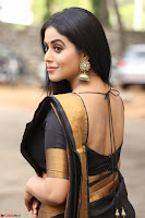 Poorna in Cute Backless Choli Saree Stunning Beauty at Avantika Movie platinum Disc Function ~  Exclusive 025.JPG
