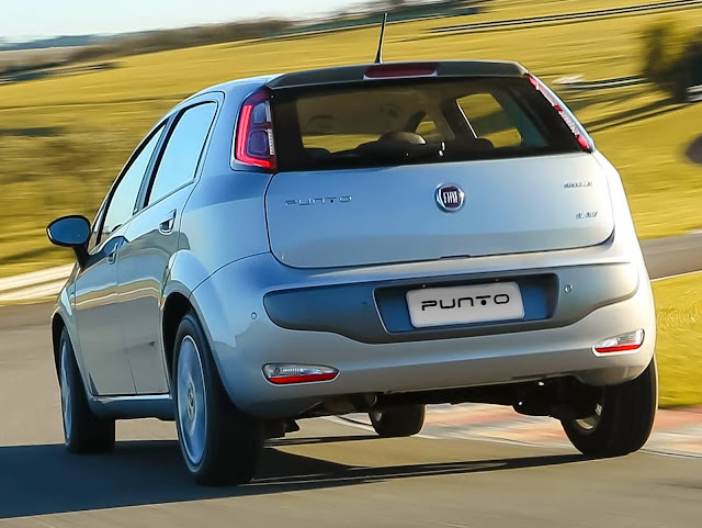 novo Fiat Punto 2017