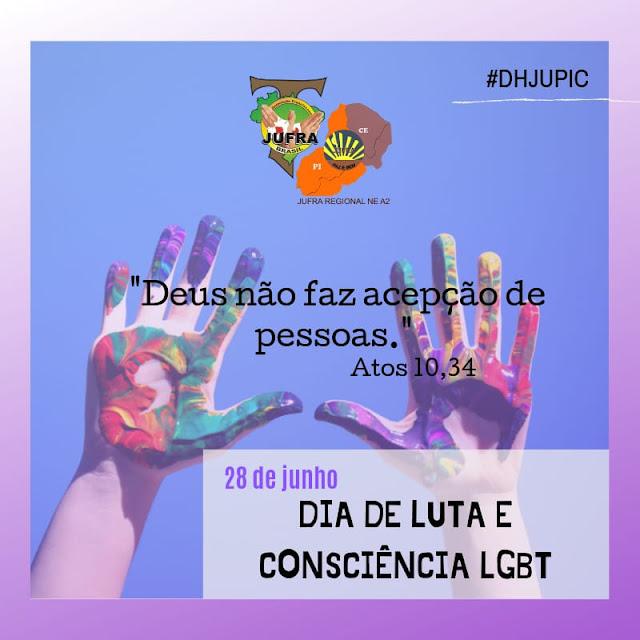 DIA DE LUTA E CONSCIÊNCIA LGBT