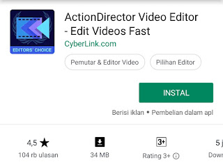 aplikasi editing video android actiondirector