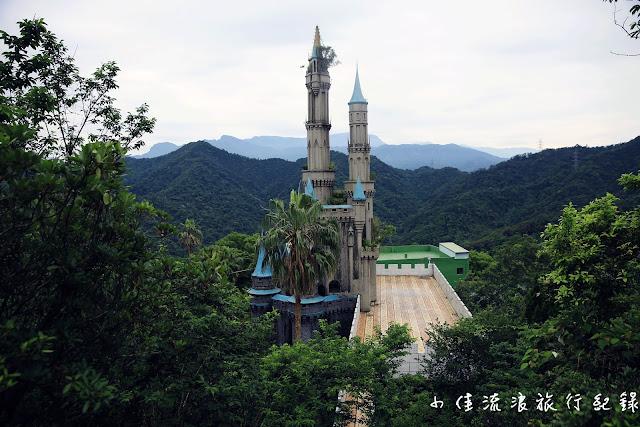 山中廢棄城堡,小時後記憶中的童話世界