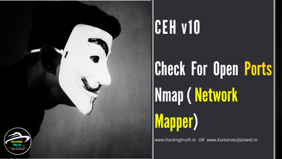 CEH v10 Check a open ports Nmap