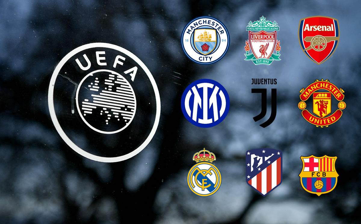 Los principales clubes de Europa anuncian una nueva Superliga y la UEFA amenaza con sanciones