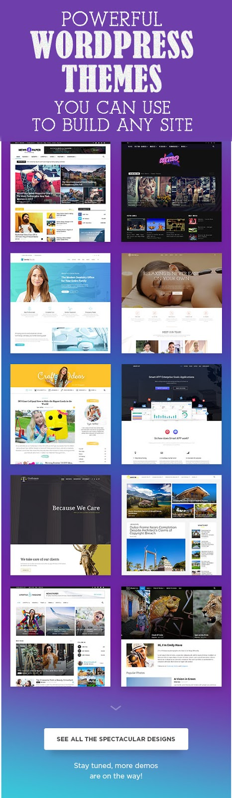 Powerful Multi-Purpose WordPress Themes You Can Use To Build Any Website
