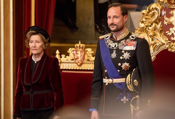 Crown Princess Mette-Marit and Princess Ingrid Alexandra does not attend the state opening
