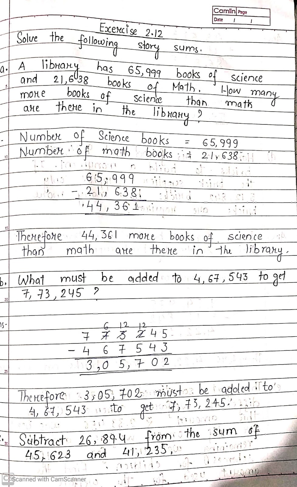 PIS BARODA STD-4: 29/4/2020 Math
