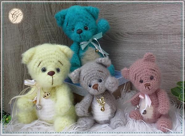 Amigurumi Ursinho ou Ursinha Grande | Urso de crochê, Ursinho ... | 440x600