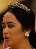 diamond bandeau tiara malaysia pahang princess tengku jihan