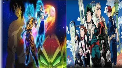 My Hero Academia e Dragon Ball Super: Broly,