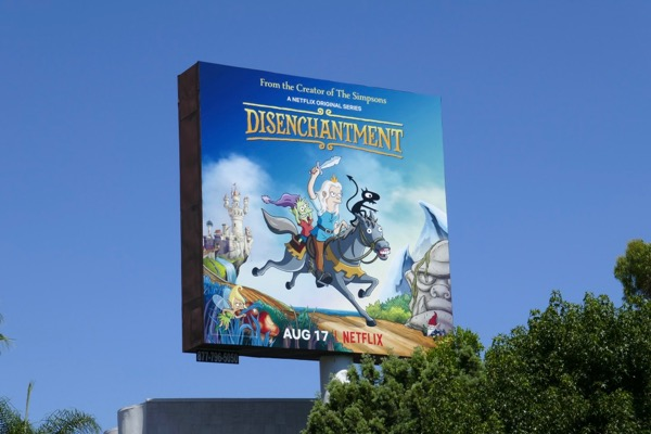 Disenchantment series premiere billboard