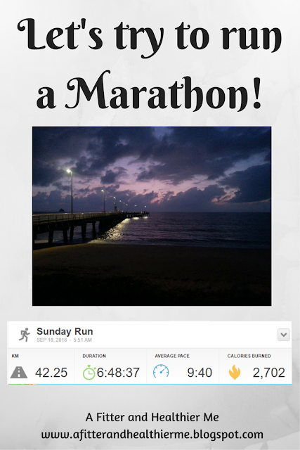 Let's Try to run a Marathon