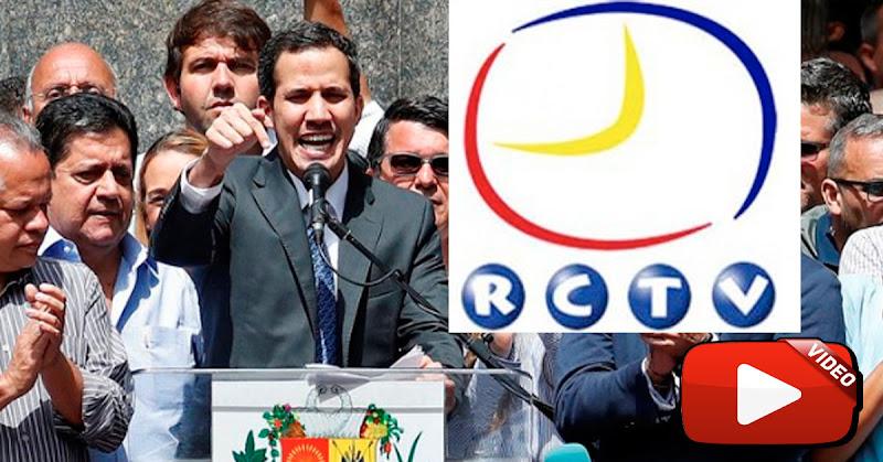 Juan Guaidó asegura que muy pronto volverá a abrir RCTV