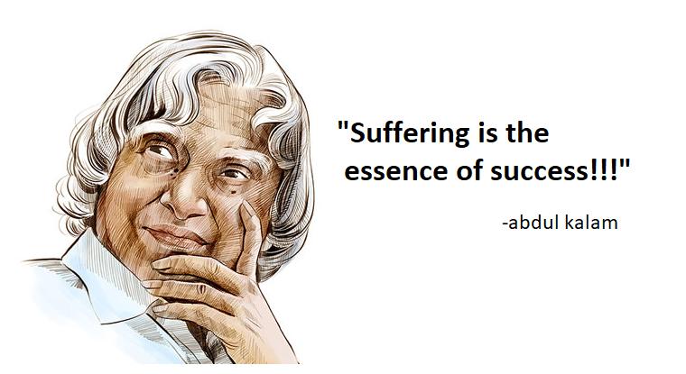 inspirational positive thinking success abdul kalam quotes