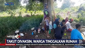Warga Satu Dusun Di NTT Kabur Ke Hutan Saat Mau Divaksin