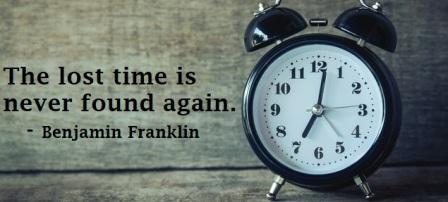 top 50 quotes of time management