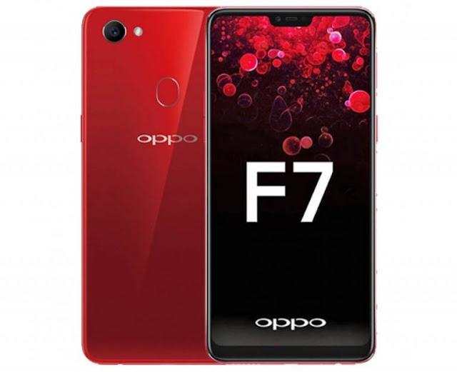 Oppo F7 Spesifikasi dan Harga