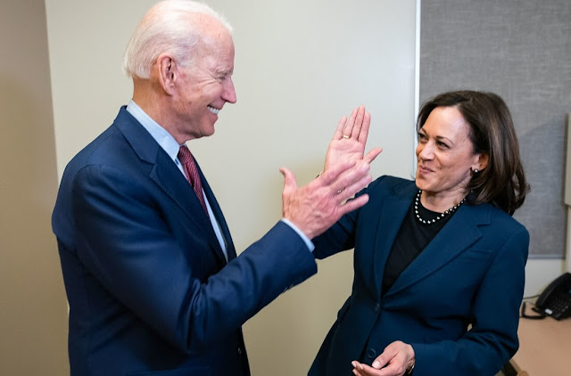 Kamala Harris and Joe Biden election