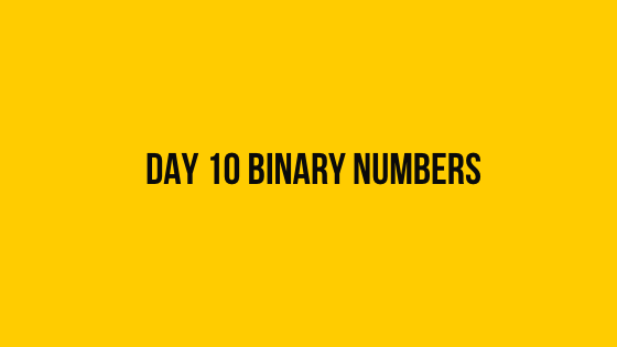 HackerRank Day 10 Binary Numbers 30 days of code solution