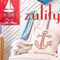 Look for Coastal Decor Sales at Zulily