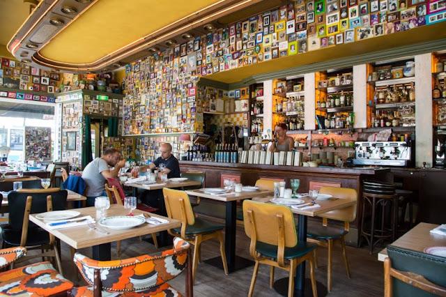 Restaurante Moeders em Amsterdã