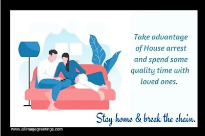 stay at home awareness