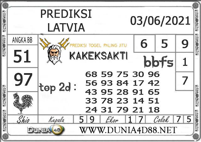 Prediksi Togel LATVIA DUNIA4D 03 JUNI 2021