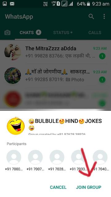 Whatsapp Join Create
