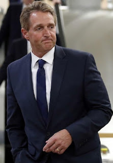 Republican Senator Jeff Flake of Arizona