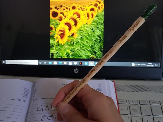 Le matite piantabili ed i gadget ecosostenibili plastic free di Sprout