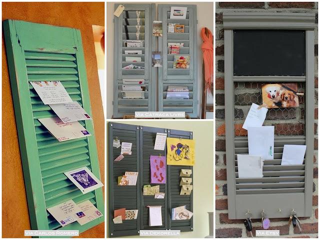 como fazer um porta correspondencia diferente