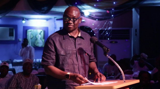 """""""I don't want to contest again, not even for senatorial race in 2019 - Fayose"""