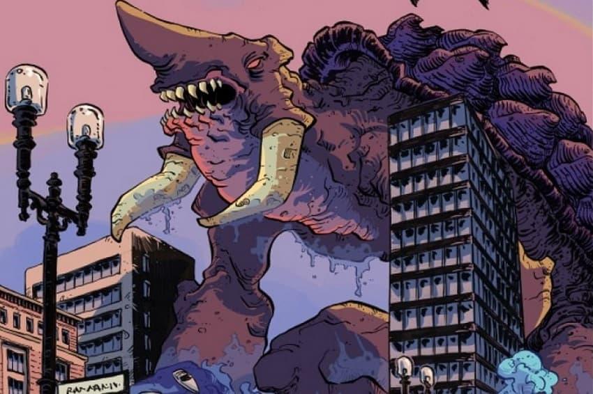 Сценаристы хоррора «Гори, гори ясно» экранизируют комикс The Kaiju Score про ограбление и монстра
