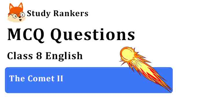MCQ Questions for Class 8 English Chapter 10 The Comet II It So Happened
