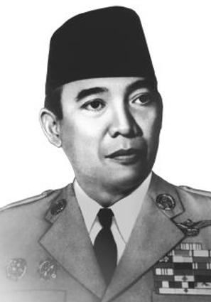 Foto Ir. Soekarno hitam putih