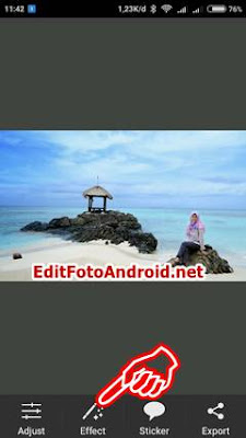 Edit Foto UP And UP